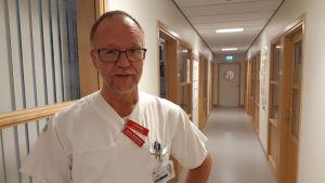 Överläkare Jan Wesström berättar att de flesta Landsting i Sverige har beslutat mäta ferritin på gravida kvinnor.