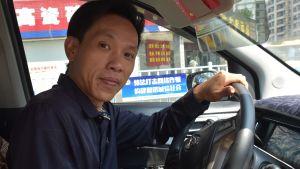 Zhang Xiaoyi arbetade i en fabrik i nästan tio år. Han är glad över att han sade upp sig.