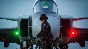 JAS-39 Gripen.