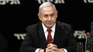 Israels premiärminister Benjamin Netanyahu