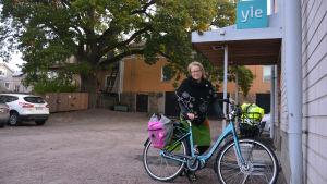 Elina Ahde (De gröna), tekniska nämndens ordförande i Ingå.