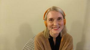 Hanna Walldén jobbar på ljudboksförlaget Storytel.