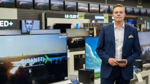 Sami Särkelä, marknadsföringschef på Gigantti.