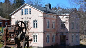 Byggnad i Billnäs bruk
