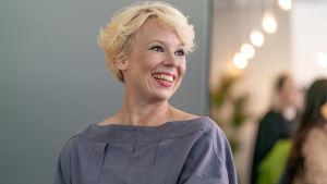 Näyttelijä Alma Pöysti.