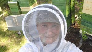 Carolina Mikander i biodlarmundering