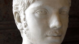 Byst föreställande Heliogabalus.