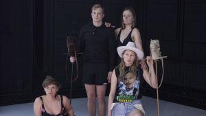 Foto från Celeste på Teaterhögskolan.