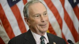 New Yorks ex-borgmästare Michael Bloomberg. Arkivbild från 2012.