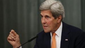 USA:s utrikesminister John Kerry
