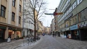 Stora Robertsgatan efter grundrenoveringen.