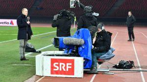 Schweizer Radio und Fernsehen (SRF) ingår i det schweiziska rundradiobolaget.