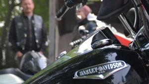 logo på motorcykel