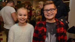 Ronja Gädda och Adrian Nystrand har besökt Buu-dagen många gånger.