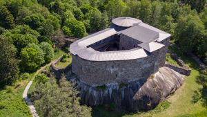 raseborgs slott från luften