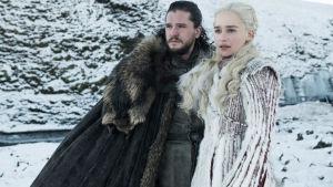 Bild från säsong åtta av Game of Thrones.