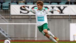 Robin Sid gav IFK Mariehamn ledningen med 1–0.