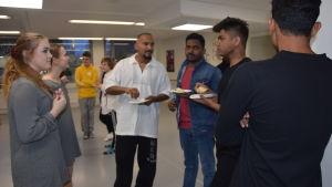Hurja Piruetti i Karis har besök av dansare från Sri Lanka.