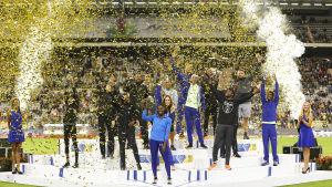 Diamond League-final i Bryssel 2019.