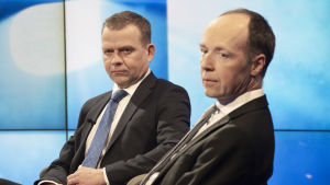 Petteri Orpo och Jussi Halla-aho.