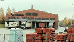 Mirkas industrifastighet i Oravais.