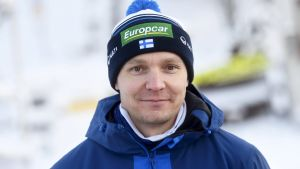 Finlands chefstränare Petter Kukkonen i Ruka.