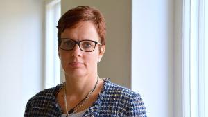 Annika Immonen, chef för barnfamiljearbete i Borgå