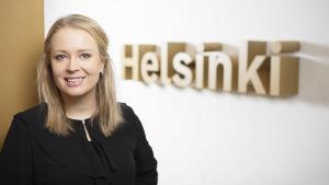 Aino Lääkölä-Pyykönen, rekryteringsansvarig på Helsingfors stad