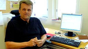 Michael Djupsjöbacka, Kronobys kommundirektör