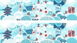 Pikku Kakkonen: Joulukortti