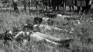 Seitajärven partisaanihyökkäyksen siviiliuhreja 7.7.1944.
