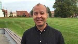 Landskapsarkitekt Pekka Kärppä.