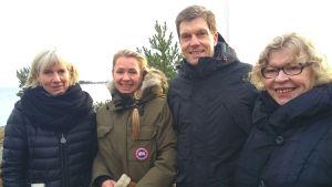 Ägare, arkitekten och museichefen planerar nya Stormhälla i Hangö