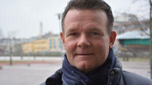 Köpmannen Kim Mattsson.