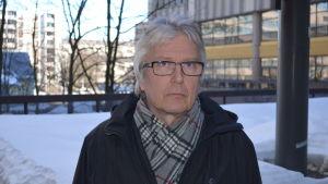 Jarmo Puharinen från Nylands närings-, trafik- och miljöcentral.
