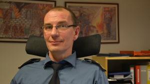 Krister Fogelberg, räddningschef på Österbottens räddningsverk.