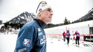Vidar Löfshus under Tour de Ski i Oberstdorf.