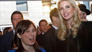 Ivanka Trump poserar med Israels utrikesminister Tzipi Hotovely