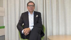 Lasse Svens / hallityksenpuheenjohtaja / Aktia mannerheimintie 06.08.2018