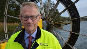 Finferries verkställande direktör Mats Rosin.