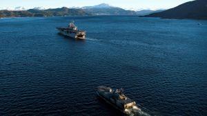 Natoövning i Norge
