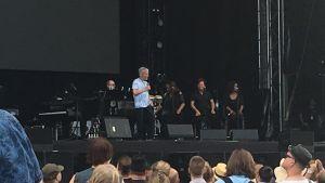 Burt Bacharach i Björneborg sommaren 2018