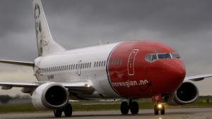 Norwegians flygplan.