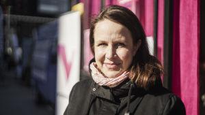 Riksdagsvalskandidat Veronika Honkasalo