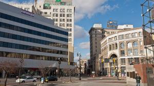 Wilkes Barre har cirka 40 000 invånare.