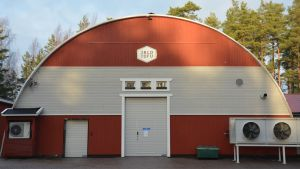 Jalofoods produktionsbyggnad i Ekenäs.