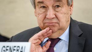 Foto på FN:s generalsekreterare Antonio Guterres