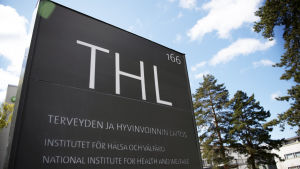 THL:s skylt
