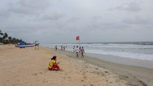 Strand i Goa i maj 2020