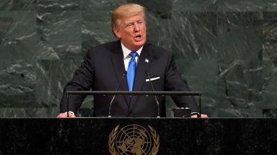 Kritik mot sanktioner i iranskt fn tal